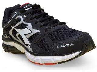 Tênis Masculino Diadora 125700 New Stratus C0123 Preto/prata - Tamanho Médio