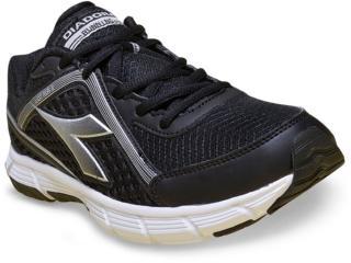Tênis Masculino Diadora 125507 Easy Run ii C0133 Preto/prata - Tamanho Médio