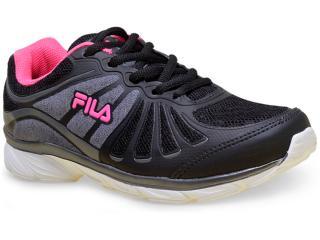 Tênis Feminino Fila 51j457x Glam w Preto/pink - Tamanho Médio