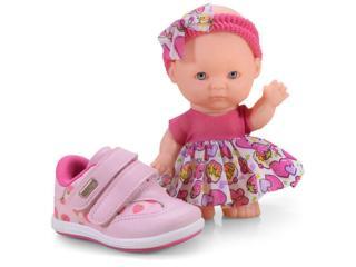 Tênis Fem Infantil Kidy 00907790008 Rosa - Tamanho Médio