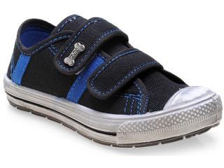 Tênis Masc Infantil Klin 471.021 Preto/azul - Tamanho Médio