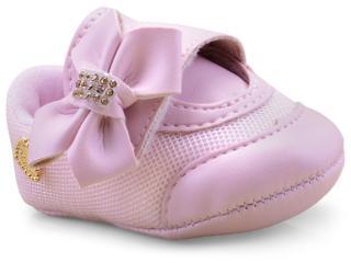 Tênis Fem Infantil Klin 208.272 Rosa - Tamanho Médio