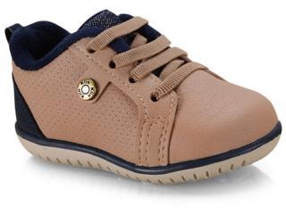 Tênis Masc Infantil Klin 166.113 Pele/jeans - Tamanho Médio