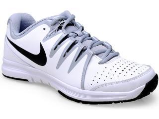 Tênis Masculino Nike 631703-101 Vapor Court Branco/cinza - Tamanho Médio