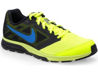 Tênis Masculino Nike 630915-704 Zoom Fly Amarelo Neon/preto - Tamanho Médio
