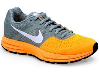 6d9257b6f3401 Tênis Feminino Nike 599392-304 Air Pegasus+ 30 Cinza/laranja. 1. 2