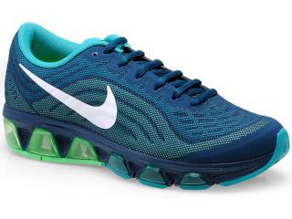 Tênis Feminino Nike 621226-301 Air Max Tailwind  Petróleo/verde - Tamanho Médio