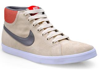 Tênis Masculino Nike 555250-200 Eastham Mid Bege/cinza - Tamanho Médio