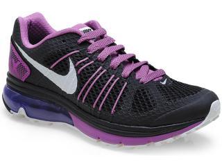 Tênis Feminino Nike 633070-021 Air Max Finale+ 2 Preto/roxo - Tamanho Médio