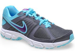 Tênis Feminino Nike 537572-029 Downshifter 5 Msl Chumbo/azul - Tamanho Médio