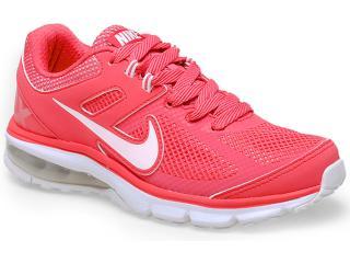 Tênis Feminino Nike 599390-601 Air Max Defy rn Coral/branco - Tamanho Médio