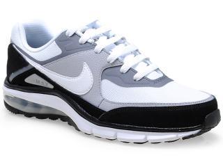 Tênis Masculino Nike 610639-011 Air Max Rebel Branco/cinza/preto - Tamanho Médio