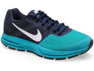 Tênis Masculino Nike 599205-401 Air Pegasus+ 30 Marinho/verde Agua - Tamanho Médio