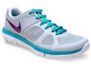Tênis Feminino Nike 642780-004  Flex 2014 rn Msl Gelo/verde Agua - Tamanho Médio
