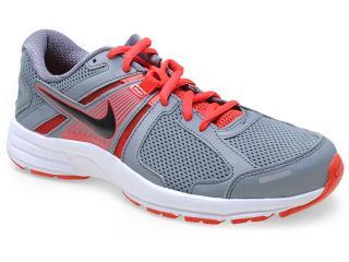 Tênis Masculino Nike 580527-022 Dart 10 Msl Cinza/vermelho - Tamanho Médio