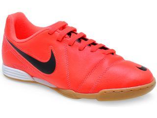 Tênis Masc Infantil Nike 525174-600 jr Ctr360 Enganche Iii ic Coral/preto - Tamanho Médio