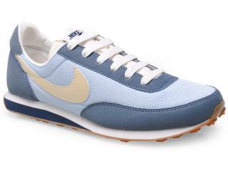 Tênis Feminino Nike 586310-400 Wmns Elite Textile Azul/bege - Tamanho Médio