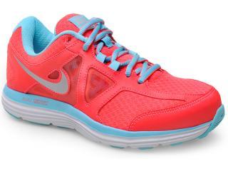 Tênis Feminino Nike 642826-600  Dual Fusion Lite 2 Msl Coral Neon/celeste - Tamanho Médio
