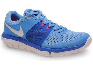 Tênis Feminino Nike 642780-401 Flex 2014 rn Msl Azul Celeste - Tamanho Médio