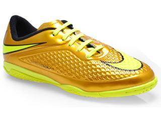 972ef0ae1d Tênis Masc Infantil Nike 677590-907 jr Hypervenom Phelon Prem ic Ouro limão