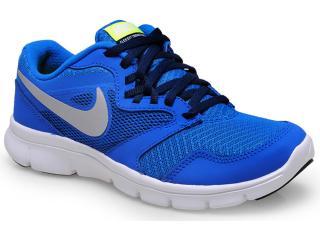 b671016b7bb Tênis Masc Infantil Nike 653701-400 Flex Experience 3 bg Royal branco