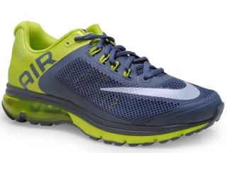Tênis Masculino Nike 555331-021 Air Max Excellerate+ 2 Chumbo/limão - Tamanho Médio