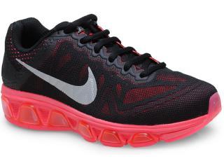 Tênis Feminino Nike 683635-002 Air Max Tailwind 7  Preto/rosa - Tamanho Médio