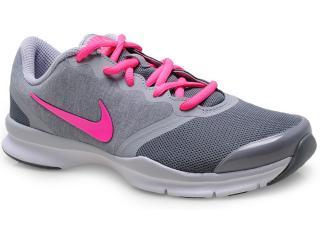 Tênis Feminino Nike 653543-006 In-season tr 4cinza/rosa - Tamanho Médio