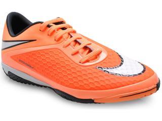 Tênis Masculino Nike 599849-800 Hypervenom Phelom ic Laranja Neon/preto - Tamanho Médio