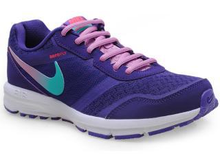 Tênis Feminino Nike 685152-500 Air Relentless 4 Msl Roxo/branco - Tamanho Médio