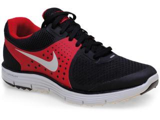 Tênis Masculino Nike 510787-002 Lunarswift+ 4 Preto/vermelho - Tamanho Médio
