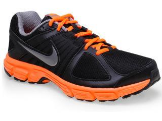 Tênis Masculino Nike 538258-023 Downshifter 5 Msl Preto/laranja/cinza - Tamanho Médio