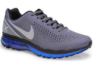 Tênis Masculino Nike 633024-028 Air Max Supreme 2 Chumbo/azul - Tamanho Médio