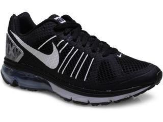 Tênis Masculino Nike 632630-014 Air Max Finale+ 2 Preto/branco/prata - Tamanho Médio