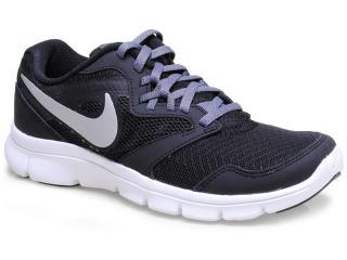 Tênis Feminino Nike 653701-001 Flex Experience 3 Preto/prata/bco - Tamanho Médio