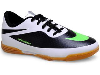 cd583a41e51ff Tênis Masc Infantil Nike 599842-031 Hypervenom Phade ic Branco/preto/limão.  1. 2
