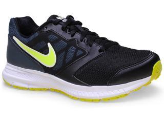 Tênis Masculino Nike 684658-007 Downsfter 6 Msl Preto/limão - Tamanho Médio