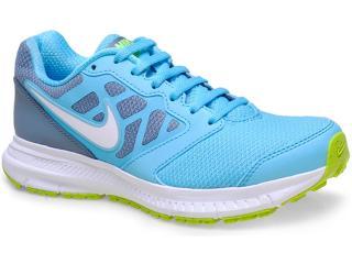 Tênis Feminino Nike 684771-401 Wmns Downshifter 6 Msl Chumbo/azul - Tamanho Médio