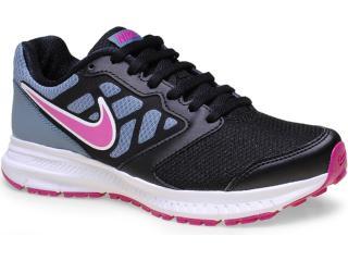 Tênis Feminino Nike 684771-007 Wmns Downshifter 6 Msl Cinza/preto/pink - Tamanho Médio