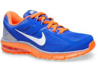 Tênis Masculino Nike 599343-402 Air Max Defy rn Azul/laranja Neon - Tamanho Médio