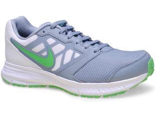 Tênis Masculino Nike 684658-008 Downshifter 6 Msl Cinza/verde/branco - Tamanho Médio