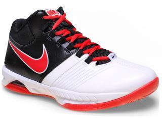 Tênis Masculino Nike 653656-102 Air Visi Pro v  Branco/vermelho/preto - Tamanho Médio