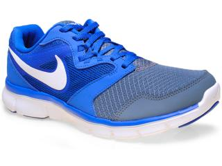 Tênis Masculino Nike 652852-404 Flex Experience rn 3 Msl  Azul/grafite - Tamanho Médio