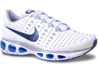 Tênis Masculino Nike 724067-101 Air Max Storm Branco/azul - Tamanho Médio