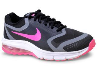 Tênis Feminino Nike 707391-004 Air Max Premiere Run Preto/rosa Chiclete - Tamanho Médio