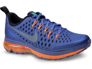 Tênis Masculino Nike 706993-401 Air Max Supreme 3  Azul/laranja - Tamanho Médio