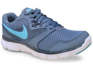 Tênis Feminino Nike 652858-403 Flx Experience rn 3 Msl Cinza/azul Celeste - Tamanho Médio