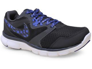 Tênis Feminino Nike 652858-019 Flx Experience rn 3 Msl Preto/roxo - Tamanho Médio