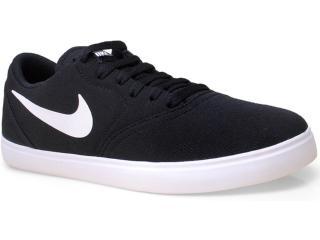 Tênis Masculino Nike 705268-001 sb Check Cnvs  Preto/branco - Tamanho Médio