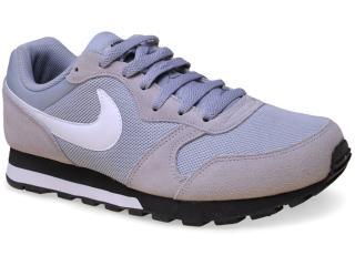 Tênis Masculino Nike 749794-011 md Runner 2 Cinza/branco/preto - Tamanho Médio